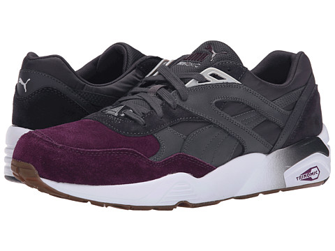 PUMA - R698 Blocked (Periscope/Italian Plum/Gum) Men's Shoes