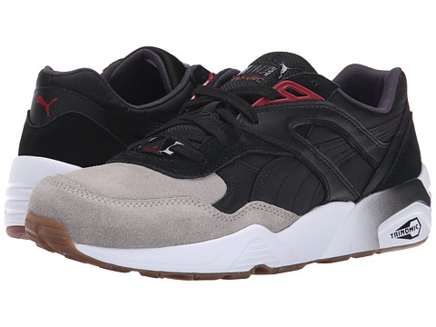PUMA - R698 Blocked (Drizzle/Black/Gum) Men's Shoes