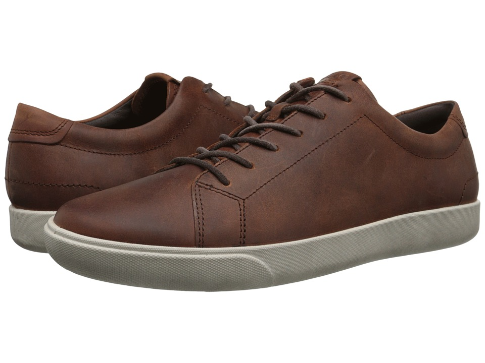 ECCO - Gary Casual Tie (Cognac) Men's Lace up casual Shoes