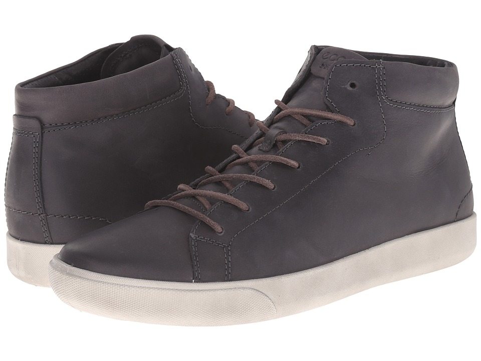 ECCO - Gary Casual Boot (Moonless) Men's Lace-up Boots