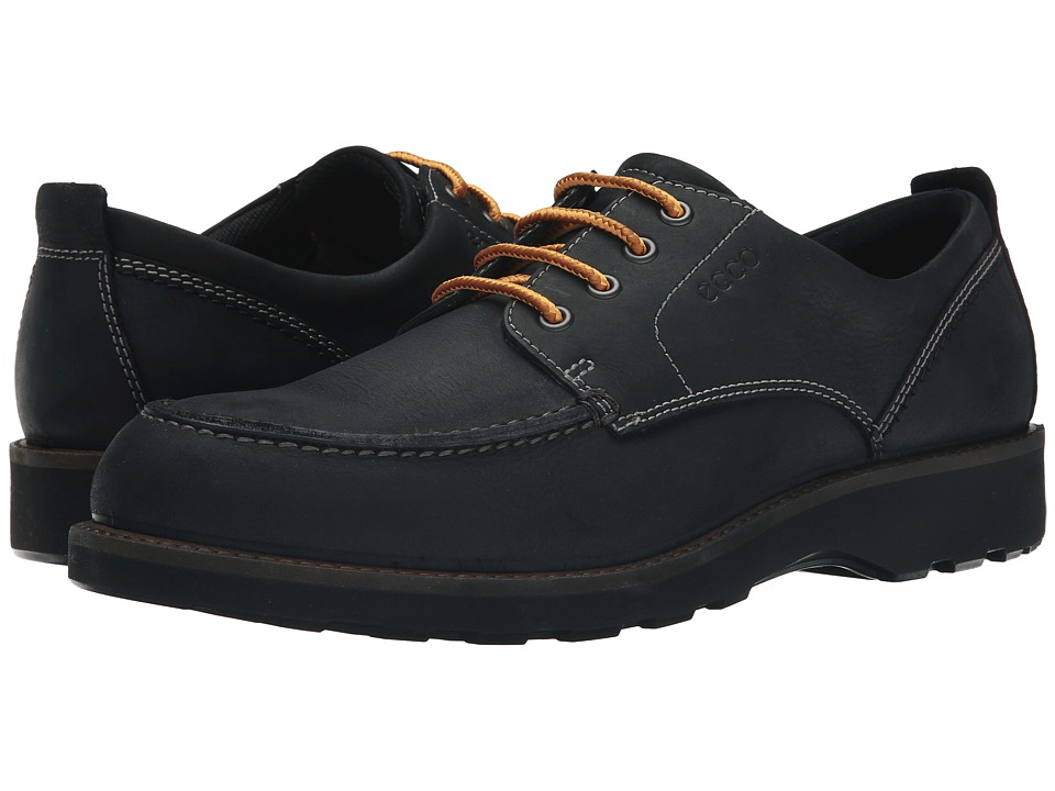 ECCO - Holbrok Tie (Black) Men's Lace up casual Shoes