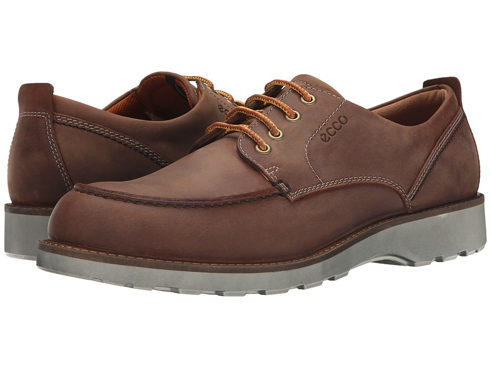 ECCO - Holbrok Tie (Cognac) Men's Lace up casual Shoes