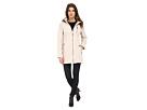 Calvin Klein Zip Front Soft Shell w/ Fur Trimmed Hood