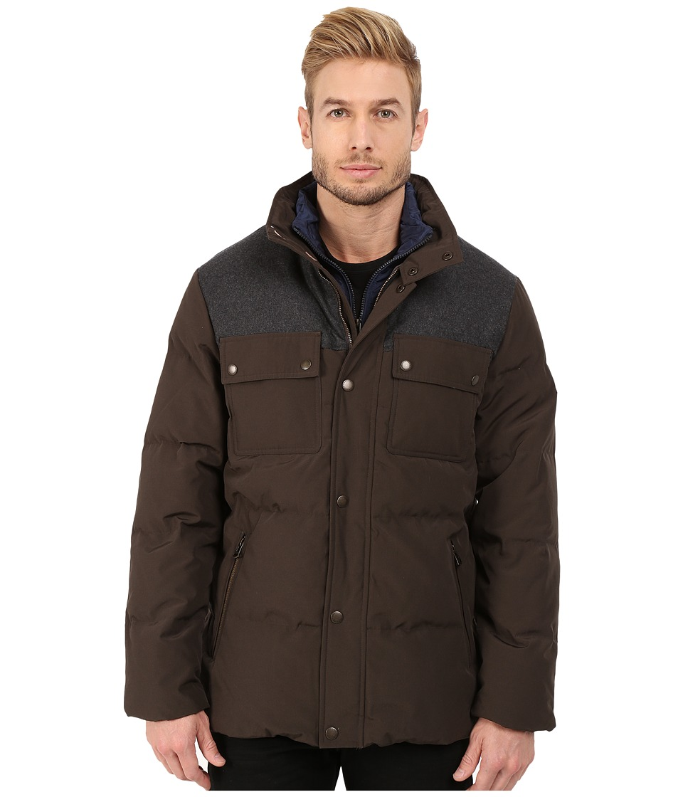 Cole Haan - Down Jacket w/ Patch Pockets (Wren) Men's Jacket