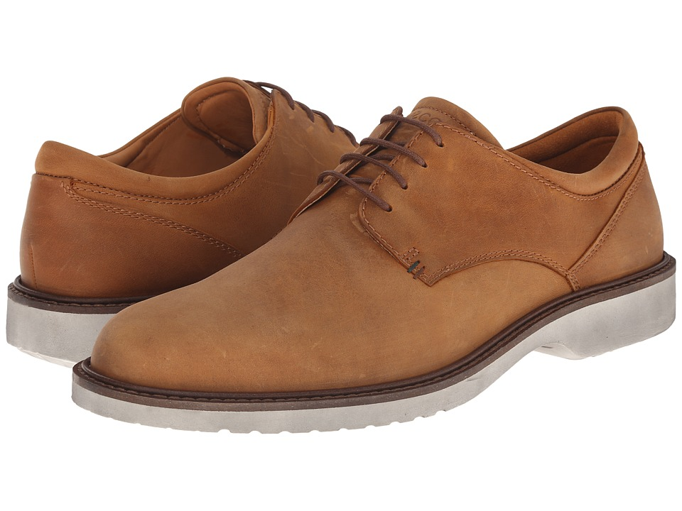 ECCO - Ian Tie (Amber) Men's Lace up casual Shoes