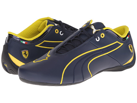 PUMA - Future Cat M1 SF (Dress Blues/Dress Blues/Vibrant Yellow) Men's Shoes