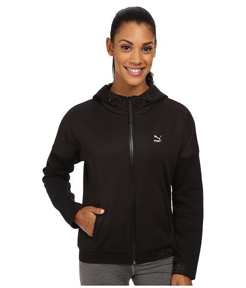 PUMA - Winterized Zip Hoodie (Black) Women