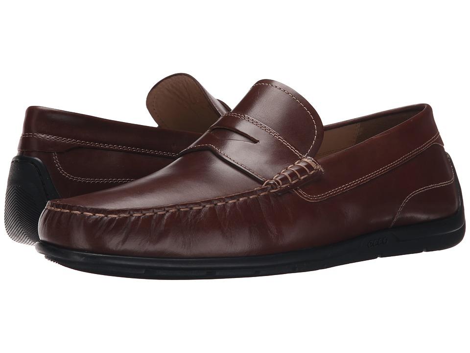 ECCO - Classic Moc 2.0 Loafer (Mink) Men's Slip on Shoes
