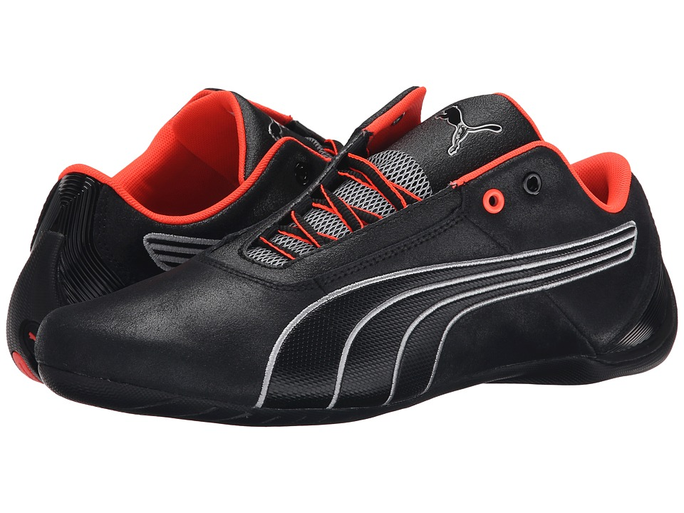 PUMA - Future Cat S1 Nightcat (Black/Black/Puma Silver) Men