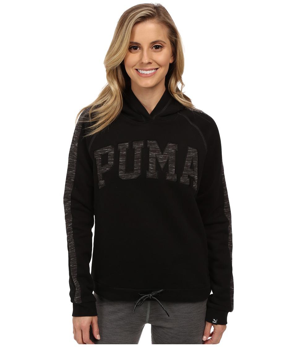 PUMA - Varsity Hoodie (Black) Women's Sweatshirt