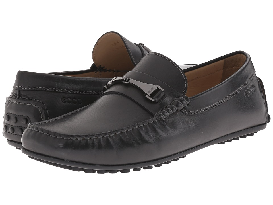 ECCO - Hybrid Moc Loafer (Black) Men