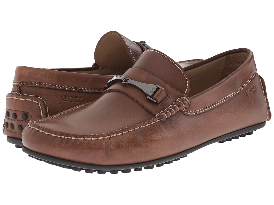 ECCO Hybrid Moc Loafer (Walnut) Men