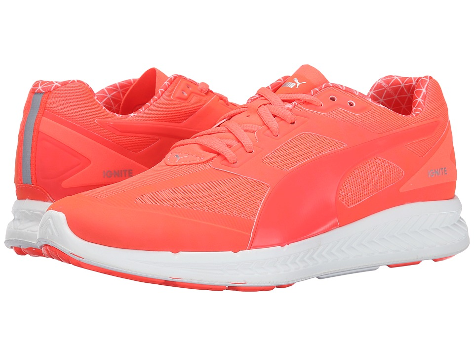 PUMA - Ignite PWRWarm (Fiery Coral) Women's Shoes