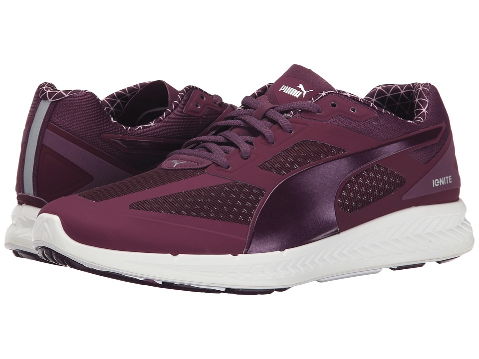 PUMA - Ignite PWRWarm (Italian Plum) Women's Shoes