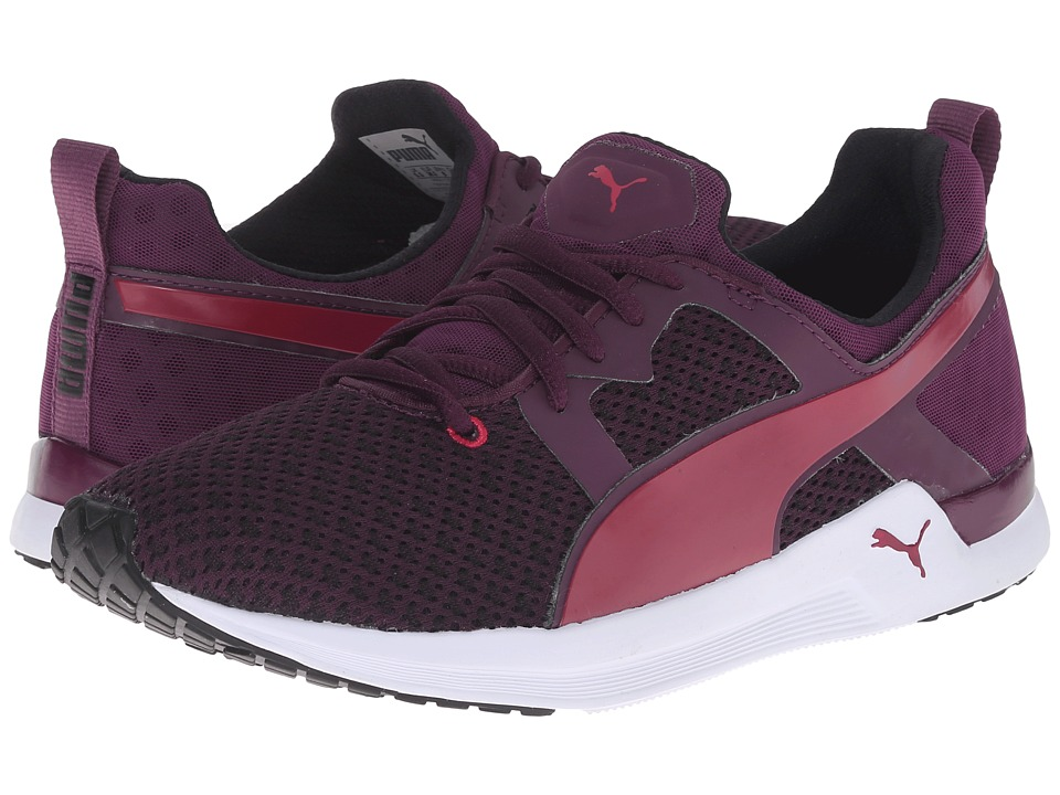 PUMA - Pulse XT Geo (Italian Plum/Lipstick Red) Women's Shoes