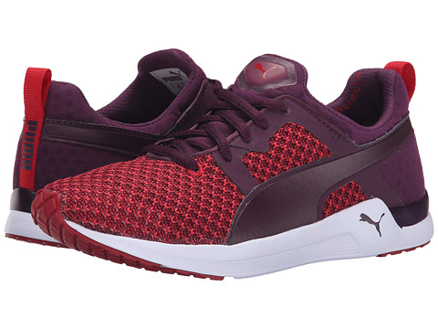 PUMA - Pulse XT Knit (Italian Plum/Lipstick Red) Women