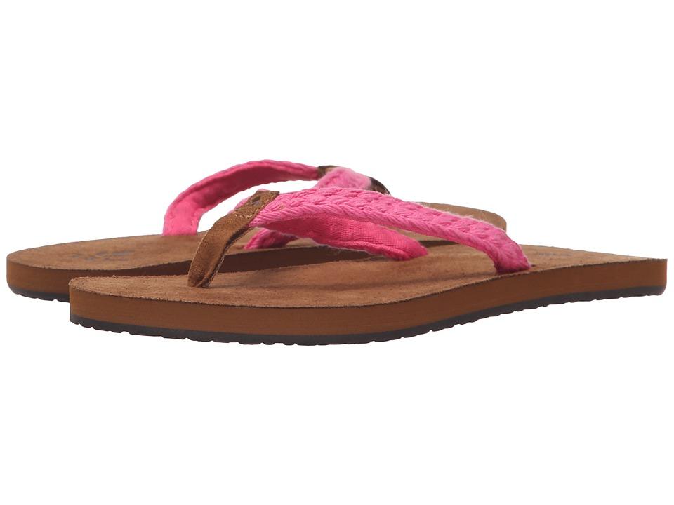 Reef Kids - Little Gypsy Macrame (Infant/Toddler/Little Kid/Big Kid) (Pink) Girls Shoes