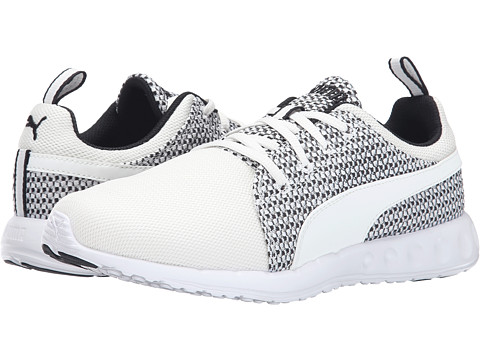 PUMA - Carson Runner Knit (White/Star White/Black) Women