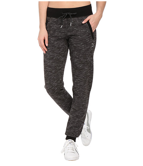 PUMA - Space Dye Pants (Black) Women's Casual Pants