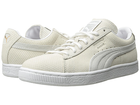 PUMA - The Suede Classic Lo Winterized (Vaporous Gray/White) Women's Shoes