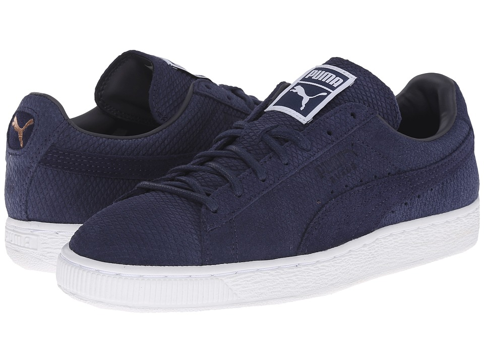 PUMA - The Suede Classic Lo Winterized (Periscope/Peacoat) Women's Shoes