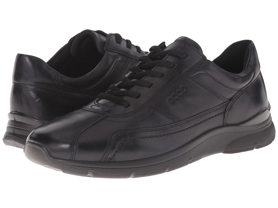 ECCO - Irving Tie (Black) Men's Lace up casual Shoes