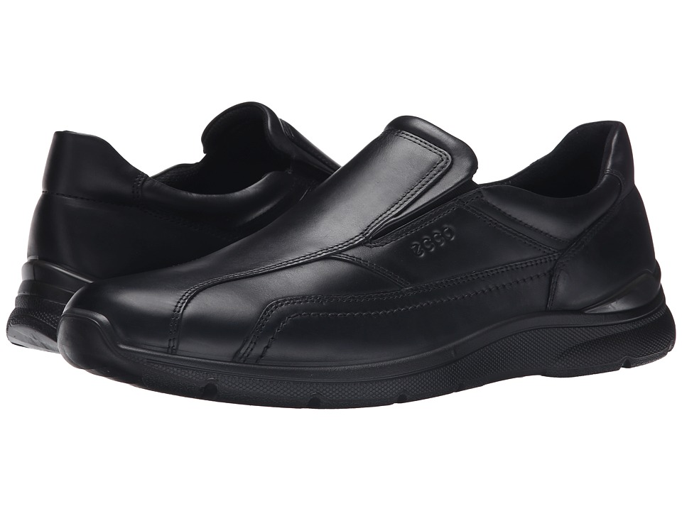 ECCO - Irving Slip-On (Black) Men's Slip on Shoes