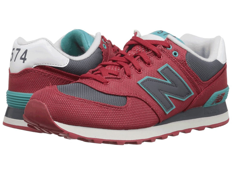 New Balance - ML574 (Chili Pepper/Grey Textile) Men's Shoes