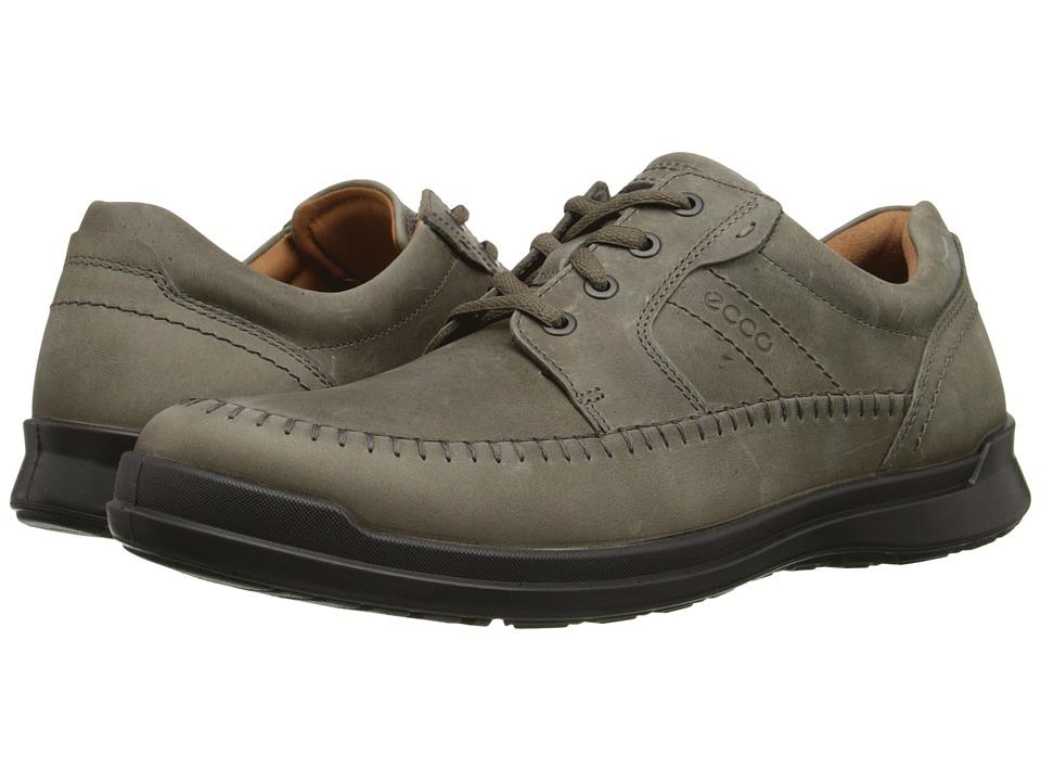 ECCO - Howell Moc Tie (Sage) Men's Shoes