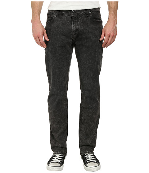 Volcom - Nova Solver Jean (Grey Acid Wash) Men