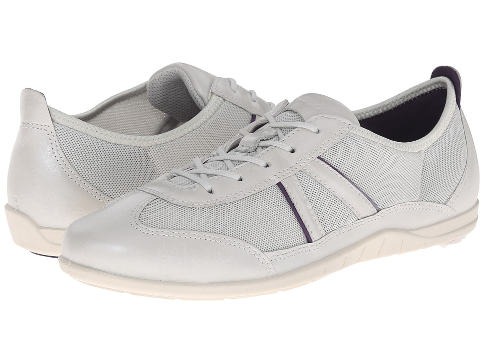 ECCO - Bluma Summer Sneaker (White/Shadow White/Crown Jewel) Women's Shoes