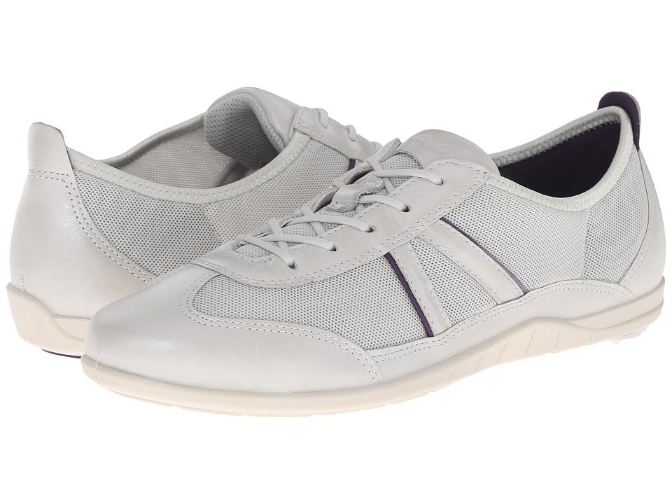 ECCO Bluma Summer Sneaker (White/Shadow White/Crown Jewel) Women