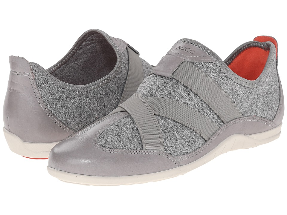ECCO - Bluma Slip-On (Wild Dove/Concrete) Women