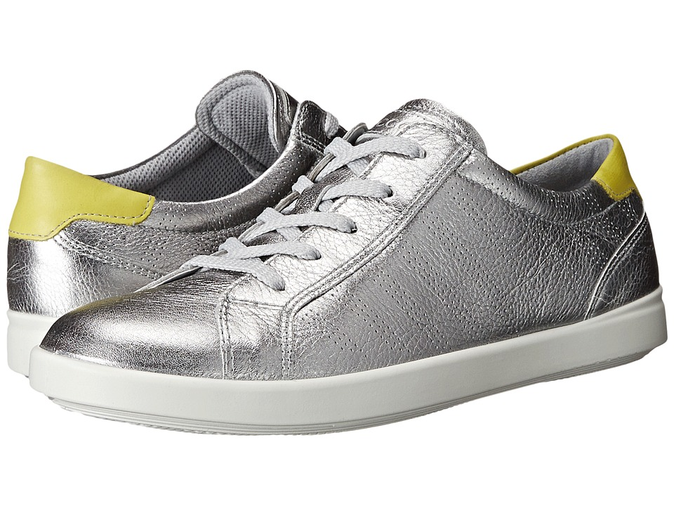 ECCO - Aimee Sport Tie (Alusilver/Sulphur) Women's Lace up casual Shoes
