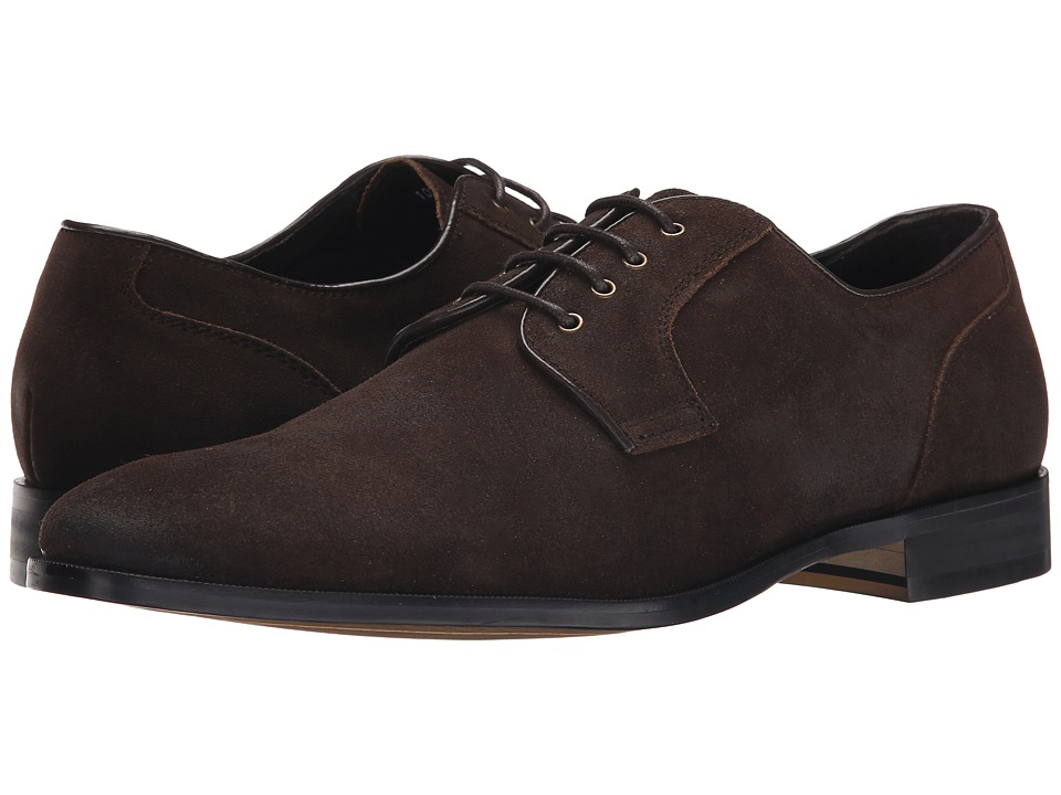 Gordon Rush - Hunter (Dark Brown Waxy Suede) Men's Lace up casual Shoes