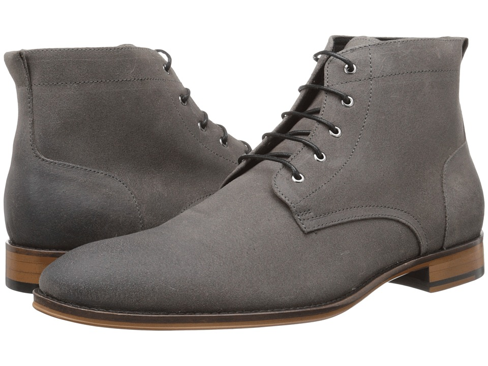 RUSH by Gordon Rush Harvey (Grey Waxy Suede) Men