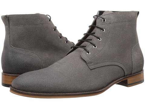 Gordon Rush - Harvey (Grey Waxy Suede) Men