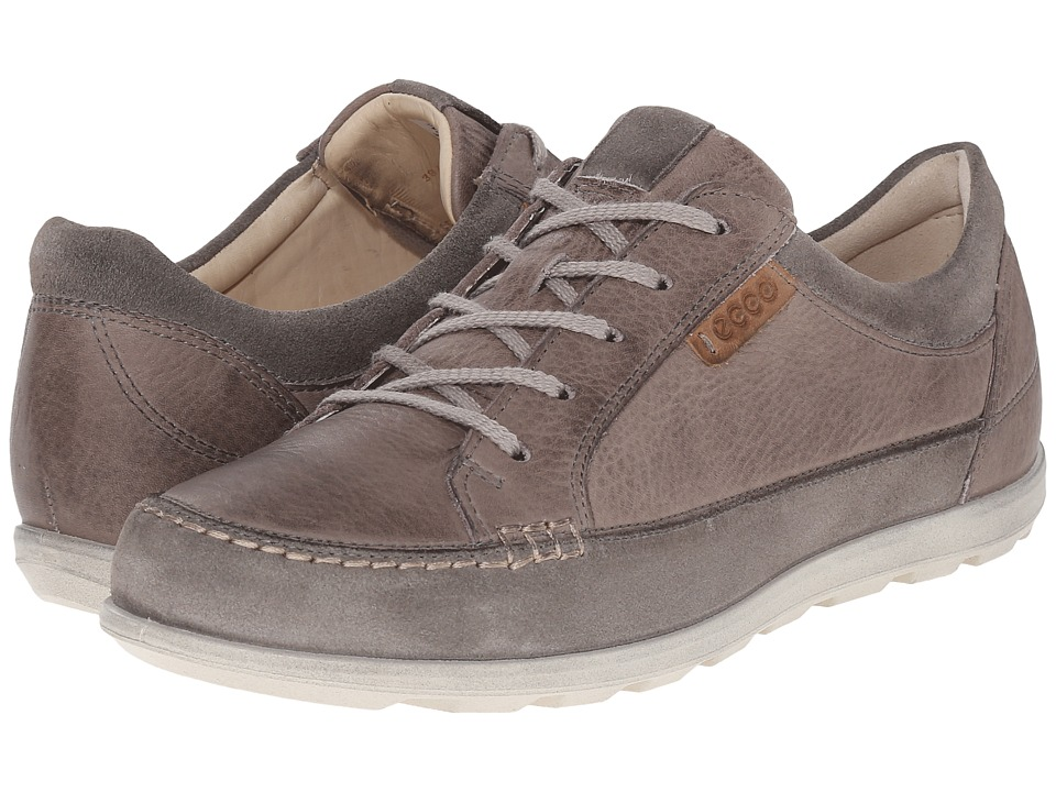 ECCO - Cayla Tie (Warm Grey/Moon Rock) Women's Lace up casual Shoes