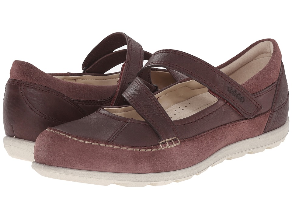 ECCO - Cayla Mary Jane (Dusty Purple/Dusty Purple) Women's Slip on Shoes