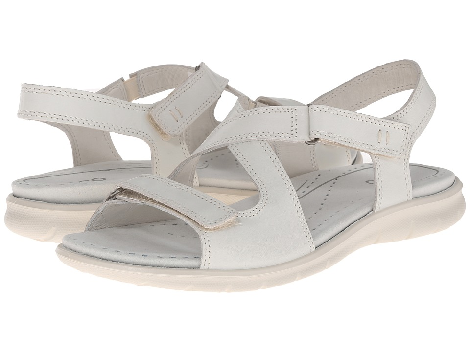 ECCO - Babett Sandal (Shadow White) Women's Sandals