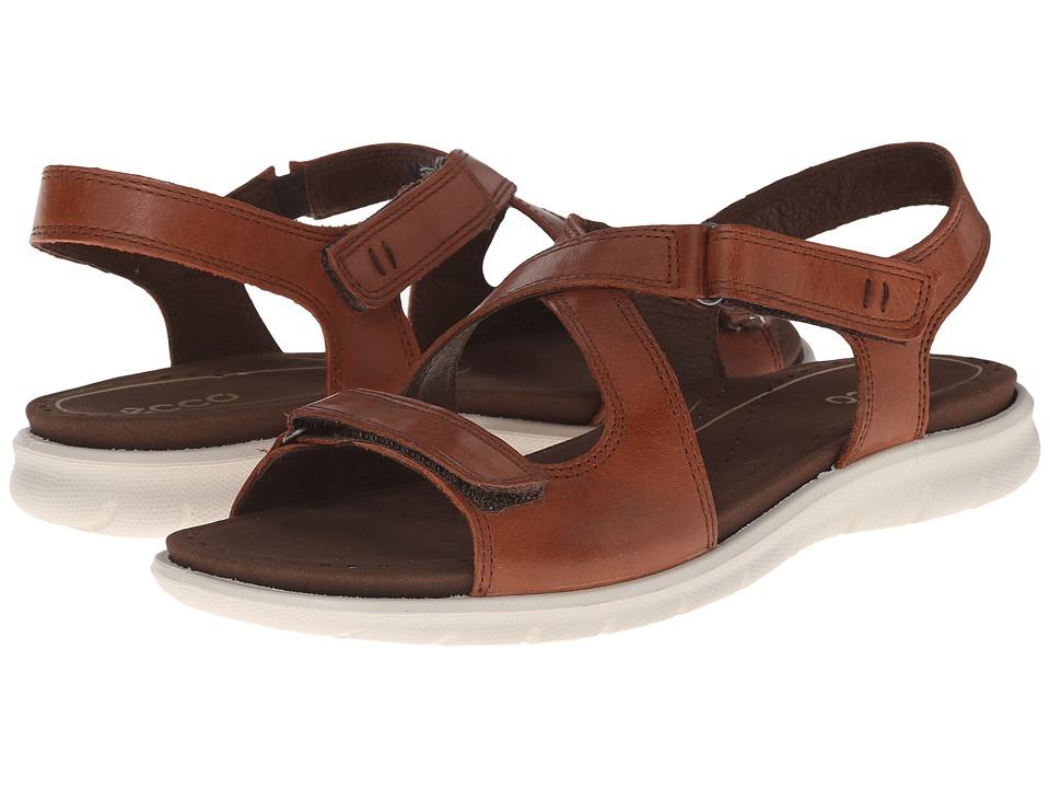 ECCO - Babett Sandal (Mahogany) Women's Sandals