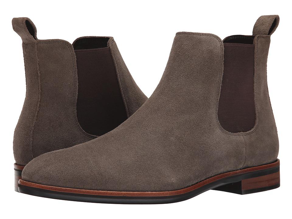 Gordon Rush - Wallis (Khaki Suede) Men's Pull-on Boots