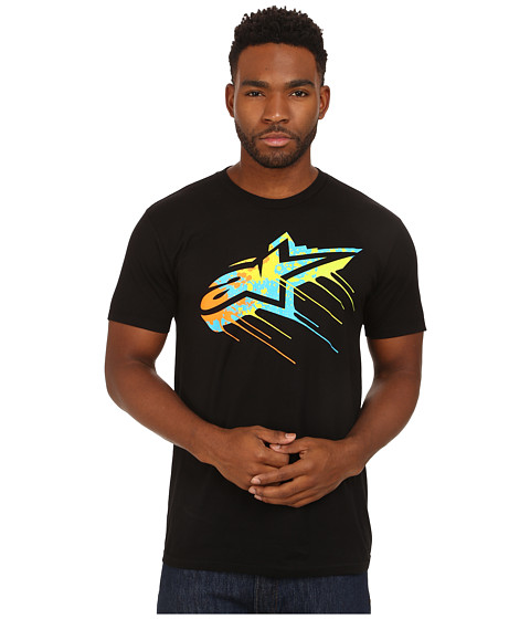 Alpinestars - Drips Tee (Black) Men's T Shirt
