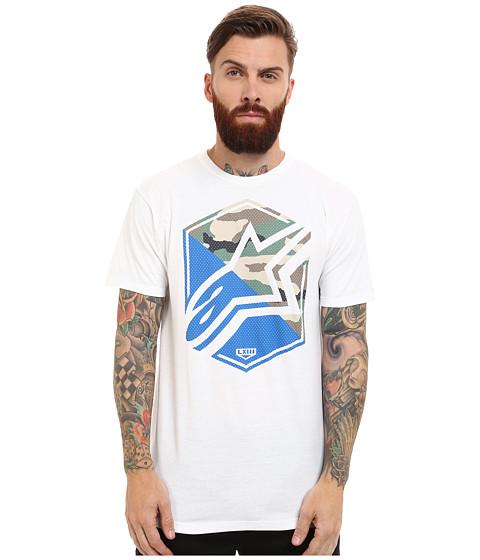 Alpinestars - Disruption Tee (White) Men's T Shirt