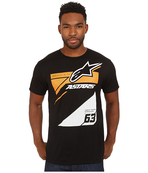 Alpinestars - Chisel Tee (Black) Men's T Shirt