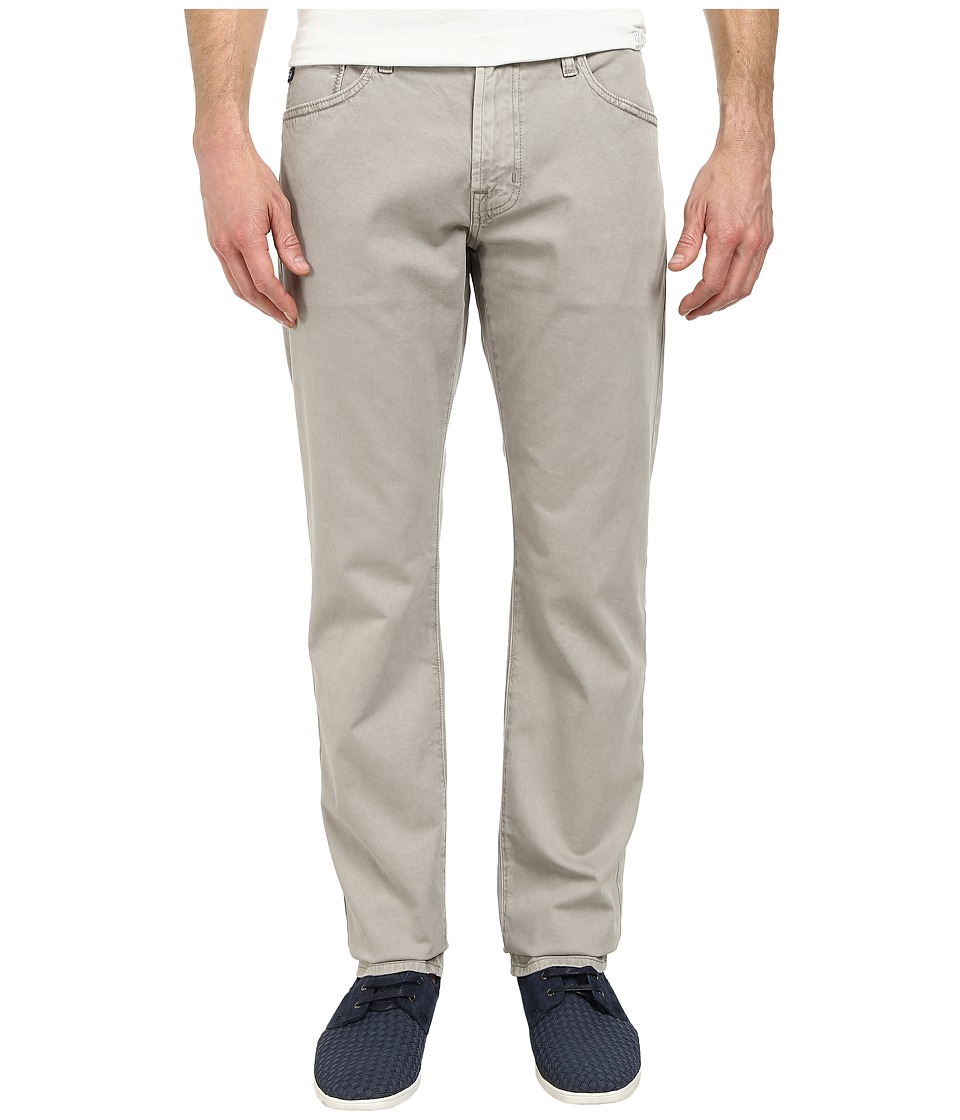AG Adriano Goldschmied - Graduate Tailored Leg Sueded Stretch Twill in Sulfur Ground (Sulfur Ground) Men's Jeans