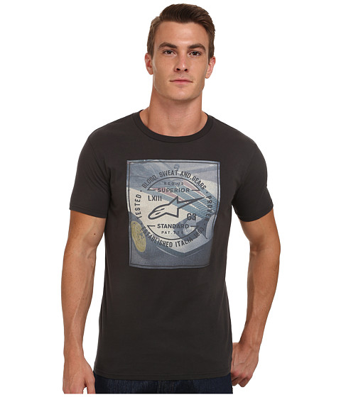 Alpinestars - Stratos Tee (Raw Black) Men's T Shirt