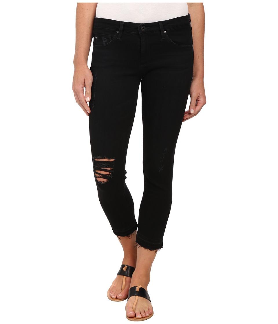 AG Adriano Goldschmied - The Stilt Crop in Repurposed Black (Repurposed Black) Women's Jeans
