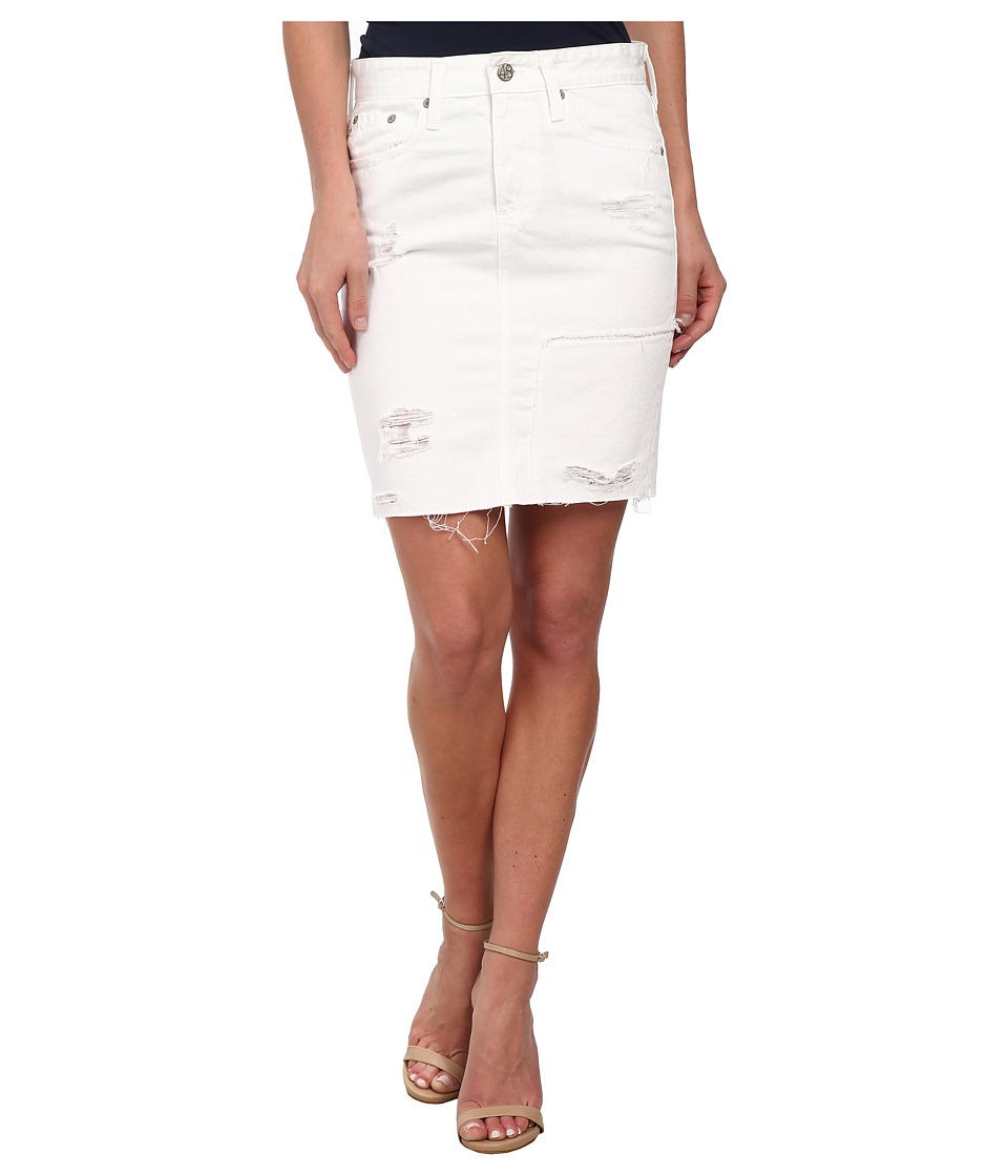 AG Adriano Goldschmied - The Erin Skirt (Vintage White Recontructed) Women's Skirt