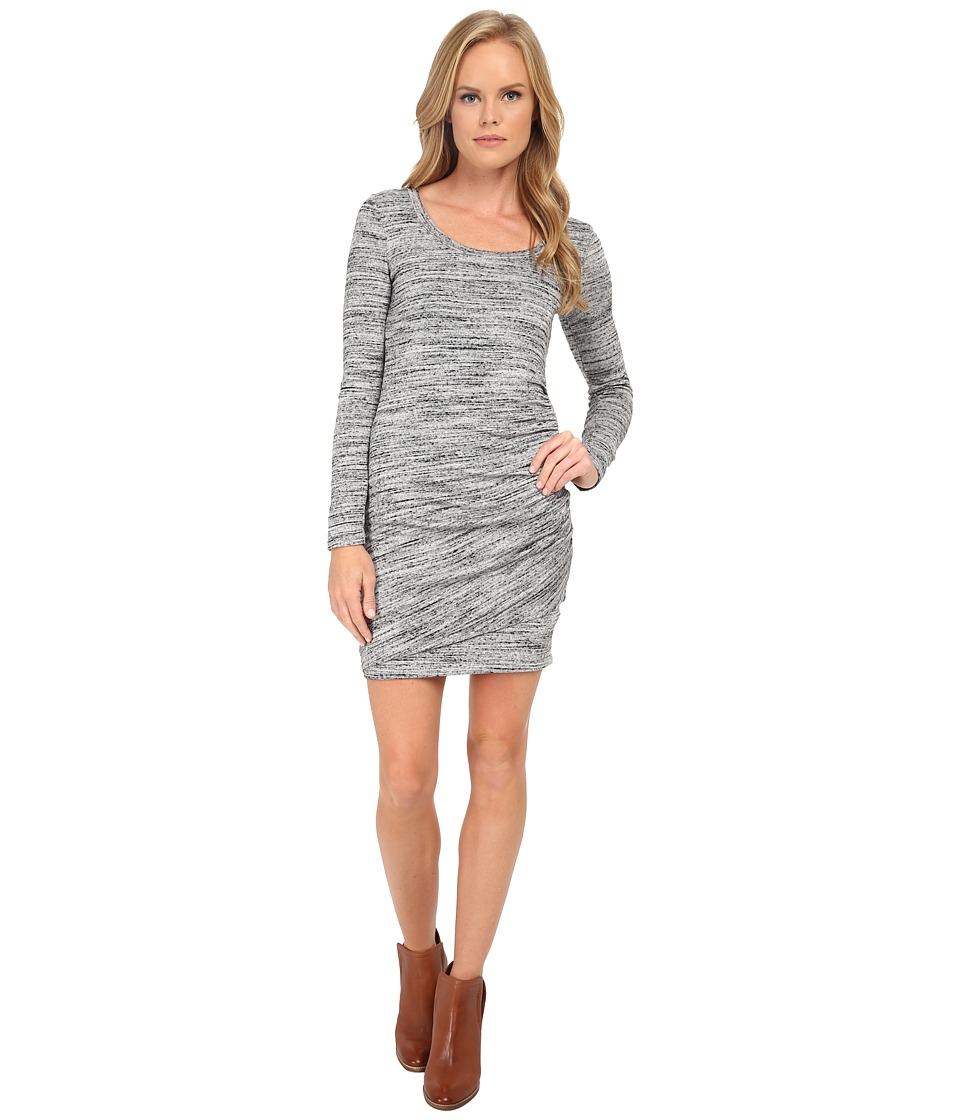 Splendid Brushed Tri Blend Dress (Heather Grey) Women's Dress